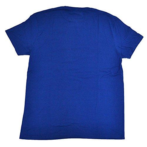 Ralph Lauren Polo Jeans Company Graphic T-Shirt Vineyard Royal Athletics Large