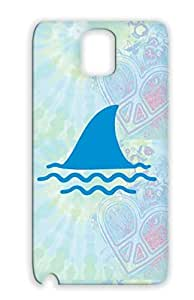 Durable Animals Nature Animal Marine Life Shark Ocean Fish Sea Fishing Water Wave Navy For Sumsang Galaxy Note 3 Cover Case