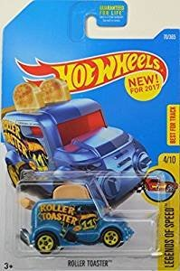 Hot Wheels 2017 Legends of Speed Roller Toaster (Toaster Car) 70/365, Blue