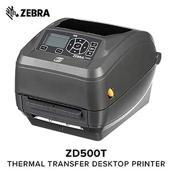 Amazon.com: Zebra Technologies zd50042-t11200fz Series zd500 ...