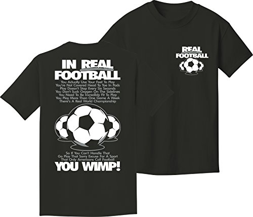 Soccer T-Shirt: Real Football Soccer