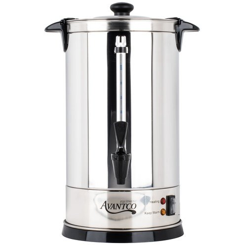 Avantco CU55 55 Cup (1.9 Gallon) Stainless Steel Coffee Urn