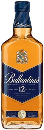 Whisky Ballantines 12 anos, 750 ml