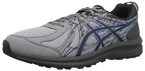 ASICS 1011A034 Men's Frequent Trail Running Shoe, Stone Grey/Stone Grey - 9.5