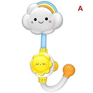 HMMA Bath Toy Watering Sprayer Game Bathtub Toy Shower Nozzle Bathtub Bath, Water Spray, Baby Shower Toys