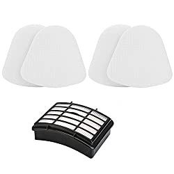 ECOMAID Accessory Kit for Shark Rotator Pro Lift-away Nv500 Hepa Filter & Foam Filter Including 2 Foam Filter and 1 Hepa Filter Compare to Part # Xff500 Xhf500