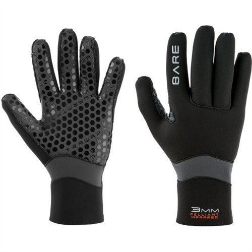 Bare 3mm Ultrawarmth Glove Scuba Diving Gloves - ()