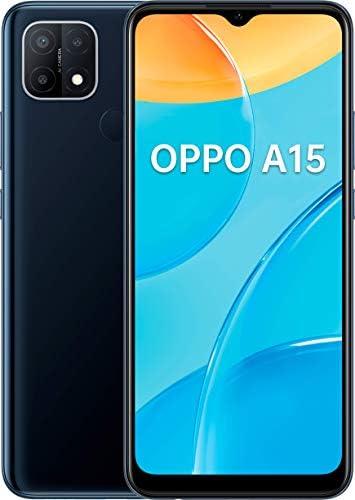 OPPO A15 Dual-SIM 32GB ROM + 3GB RAM (GSM Only | No CDMA) Factory Unlocked 4G/LTE Smartphone (Black) - International Version WeeklyReviewer