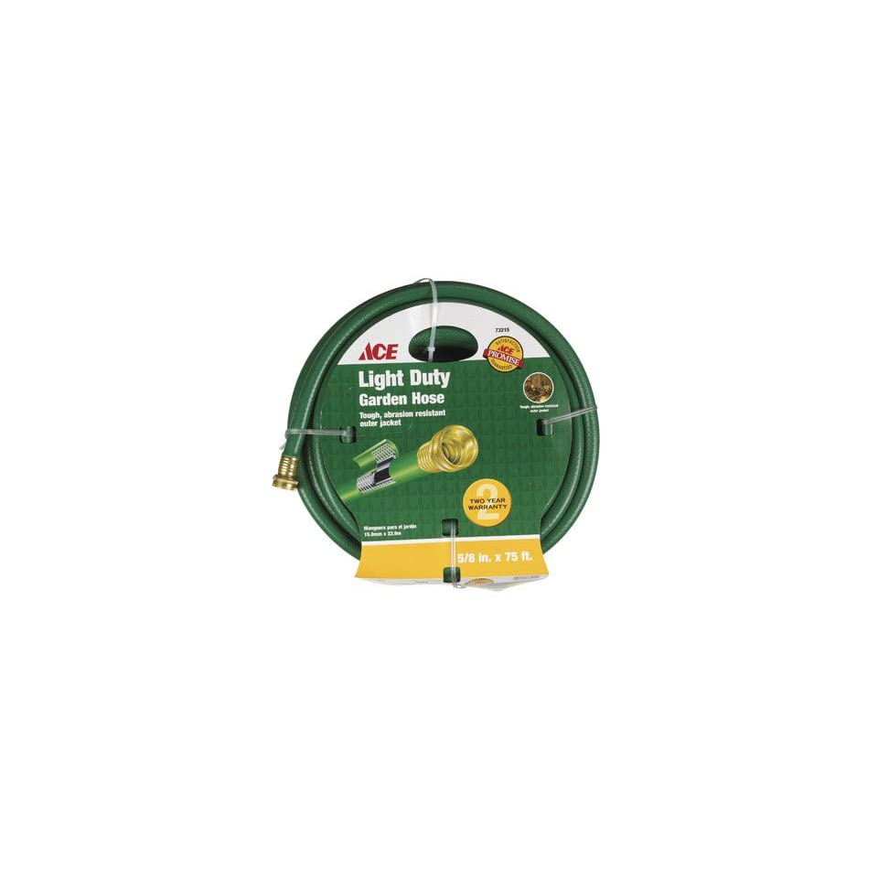 Homeplus+ Light Duty Garden Hose 5/8  X 75  Green
