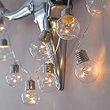 Kanzd Led Light String Long Light Bulb String Lights Room Bedroom Layout Lights (A)