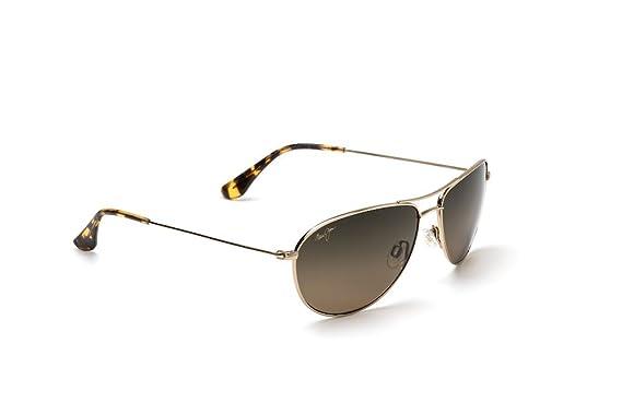 Maui Jim Sea House Sonnenbrille Gold Gold Polarisiert 60mm TR88vb23