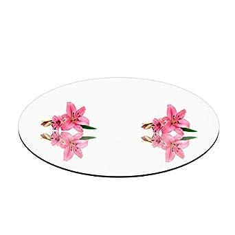"""Amazon.com: 8"""" Round Mirror Centerpiece/Plate: Industrial ..."""