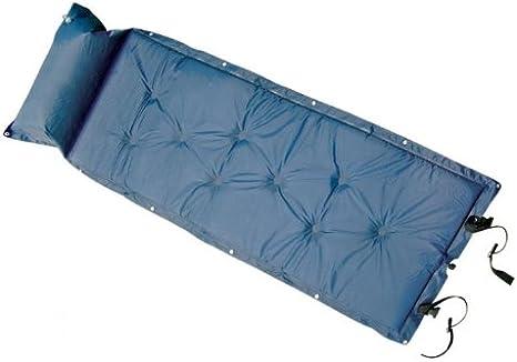 The Khan Outdoor & Lifestyle Company Arctic Wolf, colchoneta/Esterilla/colchón Hinchable Aislante, de Color Azul, SY-118: Amazon.es: Deportes y aire libre