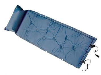 The Khan Outdoor & Lifestyle Company Arctic Wolf, colchoneta/esterilla/colchón hinchable aislante, de color azul, SY-118