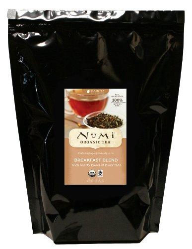 Good Earth India Tea - Numi Organic Tea Breakfast Blend, Loose Full Black Tea, 16 Ounce Bulk Pouch