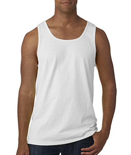 Fruit of the Loom Adult 5 oz. HD CottonÖ Tank-WHITE-2XL (Of Fruit Tank Loom Top White The)