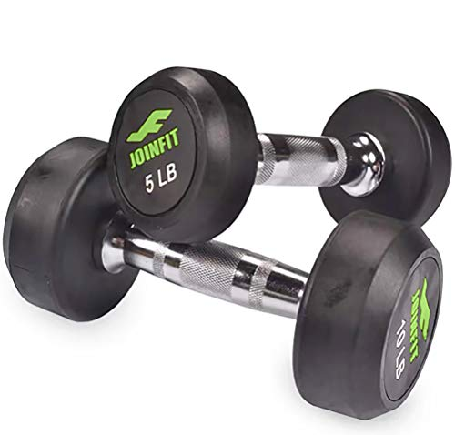 5-lb-Gym-Home-Dumbbells-Set-of-2Rubber-CoatedHand-Weights-for-Exercises-5-Pound-Dumbell5-lbs-Pair-Workout-Barbell-for-Men-Women5lb-Set