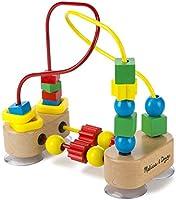 Melissa & Doug Primer laberinto con cuentas, juguetes de desarrollo, juego educativo de madera, confección de calidad y...