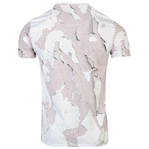 Firetrap Herren T-Shirt weiß weiß