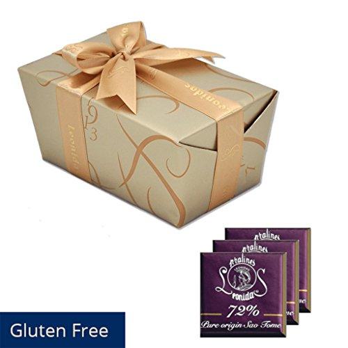 Leonidas Belgian Chocolates: 1 lb Dark Napolitain 72% Pure Origin Sao Tome (Semi Solid Milk Chocolate)