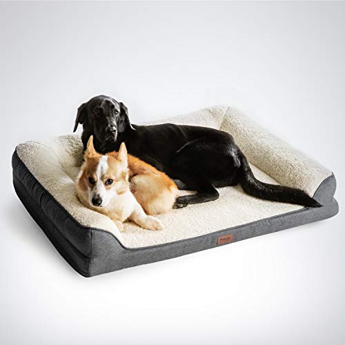 Petsure Orthopedic Pet Sofa Beds for Small, Medium, Large Dogs & Cats - 42