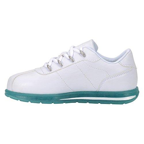 Zapatilla De Deporte Low Zrocs Ice Low Para Mujer Blanco / Verde Azulado Ice Perma Ocultar