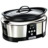 Crockpot SCCPBPP605 Next Generation Slow Cooker, 5.7 L, Silver (220 Volts – Not for USA) For Sale