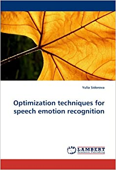 Book Optimization techniques for speech emotion recognition