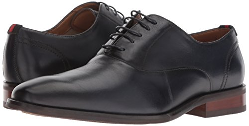 Pictures of Steve Madden Men's Driscoll Oxford Navy DRIS01M1 Navy Leather 4