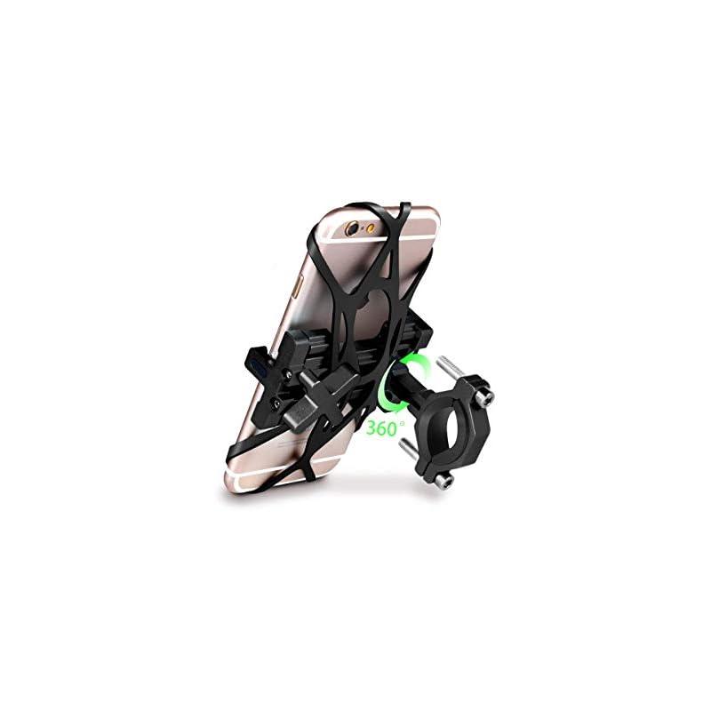 SpoLite Chrome Bike Phone Mount for Moto