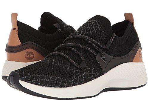 (Timberland Womens FlyRoam Go Knit Chukka Black Sneaker - 8.5)