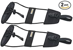 """Bag Bungee. Carry more with less effort Bag Bungee attaches easily to handle system of wheeled luggage Works on single pole or double pole telescoping handles Secures a 2nd bag, coat or other item Two items move as one Size: 20"""" x 8.25"""" x 1.7..."""