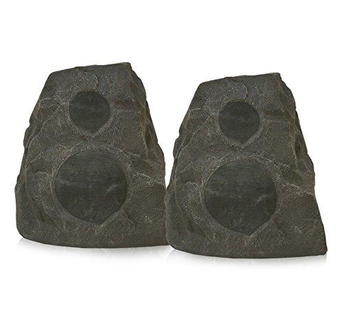 - Klipsch AWR-650-SM All Weather 2-way Rock Speakers - Pair (Granite)
