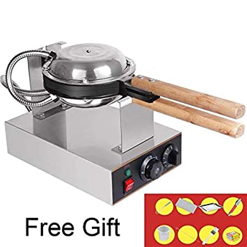Gofrera Bubble Waffle eggette Maker 110 V/220 V 33x22x23cm 220v (Eu Adapter): Amazon.es: Hogar