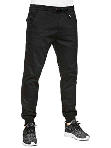 Reell Reflex Rib Pantaloni black denim