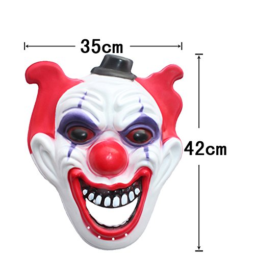 [Halloween decoration props/Adults ChildrenEVAGhost mask/Lovely toxic activity of men and women dress] (Devil Tall Terrors Adult Mens Costumes)