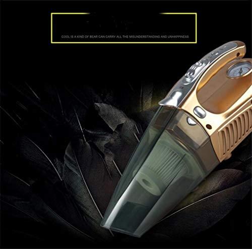 Pullic Aspiradora Potente Aspirador del Coche Inflador del Coche con la presión del neumático Que supervisa el Aspirador...