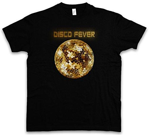 DISCO LIGHT II T-SHIRT – Retro Oldies Music Musik Nerd Techno Indie Electro Wave New Hipster Club Clubbing Rave Cyber Dance Mirror Ball Starlight Star 70s 80s 90s Größen S – 5XL