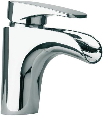 La Toscana 86CR211WF Novello Single Post Mount Lavatory Faucet with Pop-Up Drain, Chrome