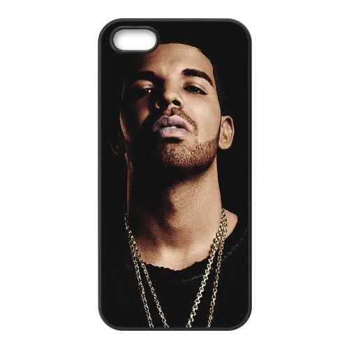Drake 006 iPhone 5 5S Fall hülle Abdeckung Schwarz Handy Tasche EOKXLLNCD18807