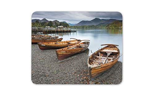 Keswick Lake District Mouse Pad - England Boats Travel Mousepad Mouse Mat Gift Computer -14249 ()
