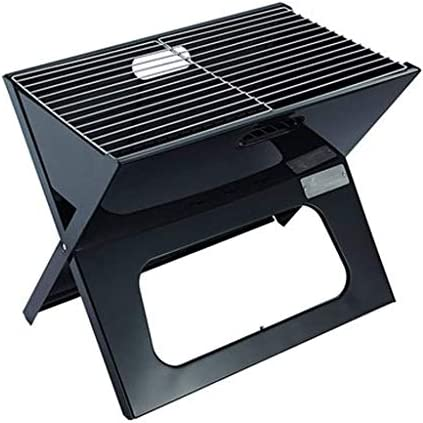 WYJBD Folding Barbecue au Charbon, Grill Portable Durable épaissie Mini Barbecue Grill Ménage Four