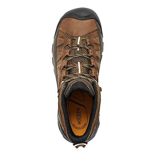 Keen Herren Targhee III Mid WP Trekking-& Wanderstiefel Braun (Big Bend/golden Brown 0)
