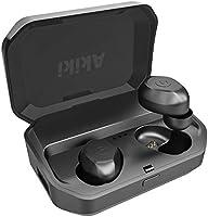 IPX7完全防水 Bluetooth イヤホン Bluetooth 5.0 自動ペアリング 充電ケース付き タッチ式 Siri対応 収納ケース付 両耳 片耳 左右分離型 軽量 マイク内蔵 iphone8 iPhone Android...