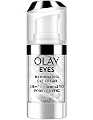 Olay Eyes Illuminating Eye Cream to Help Reduce the look of Dark Circles Under Eyes, 0.5 Fl Oz  Packaging may Vary