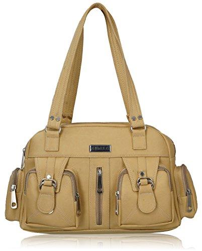 Fantosy Beige women shoulder bag (FNB-398)