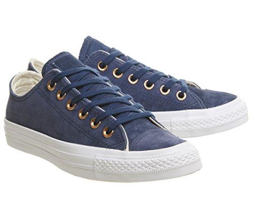 Navy Ivory Sneaker Taylor Erwachsene Converse Chuck Mono Ox Unisex Star All Natural White q11wUC