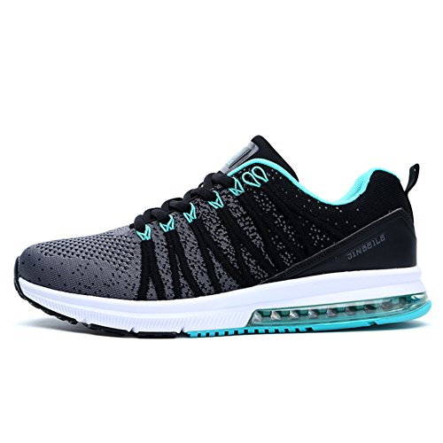 Training MD Blue Fashion Vamp Anti Running Soles Walking Casual Soft Flyknit Outsole Gym Shoes Breathable Mens Shock Womens qaAqR8