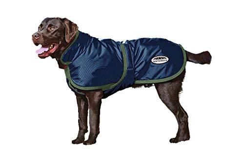 Weatherbeeta for One Stop 600D Deluxe Dog Coat Blue/Evergreen 22