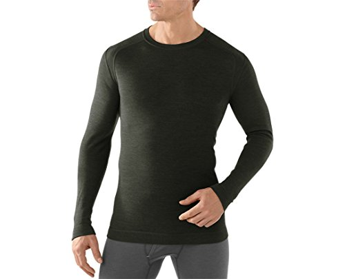 SmartWool Men's NTS Mid 250 Crew (Olive Heather) Medium by SmartWool (Image #3)